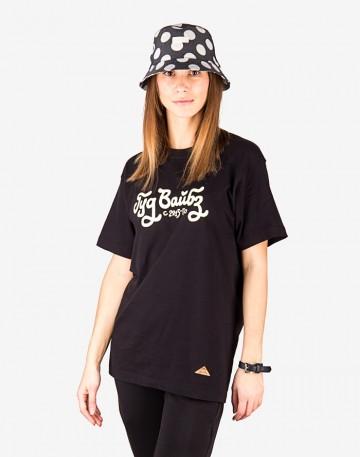 Bucket Hat Black/White Dots