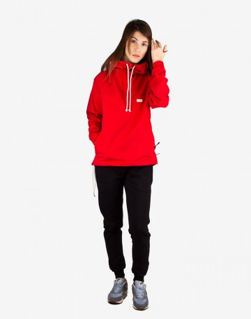 Mob Anorak Red