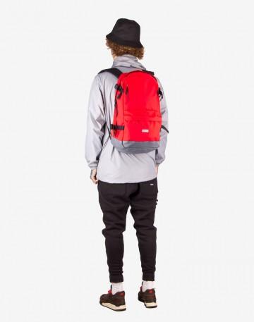 Рюкзак Action Красный/серая кожа