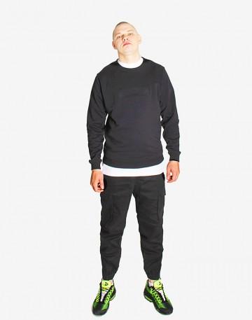 Stamp Sweatshirt Black