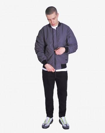 Куртка Bomber Черный Светоотражающий