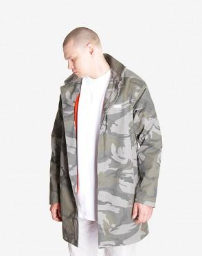 Mac Coat Light Gray Camouflage