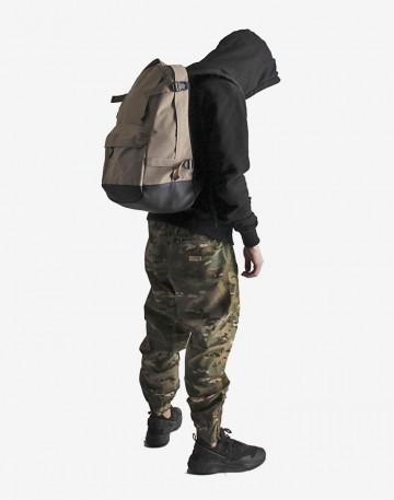 Action Backpack Beige/Black
