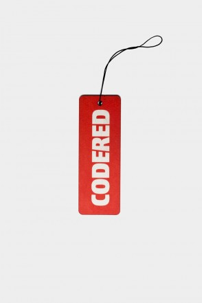 Ароматизатор Fresh CODERED Красный Ваниль