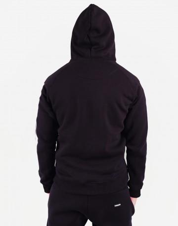 Толстовка Hood Sleeve Lines Черная