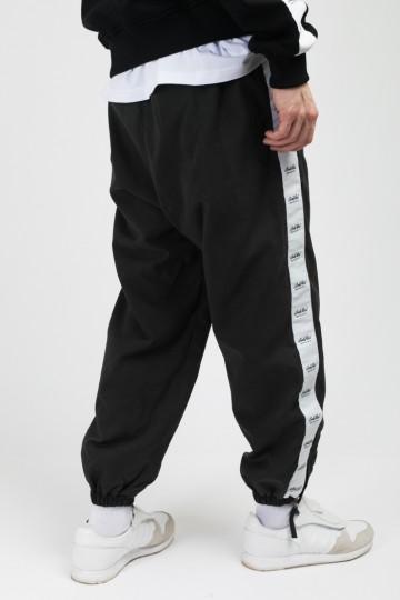 Stripe Jogger Pants Black