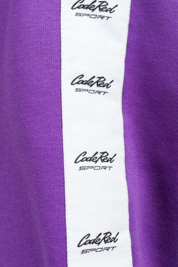 Stripe Crew Сrew-neck Light Violet