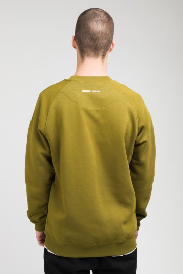 Firm Crew-neck CODERED x Матвей Кайф Army Green