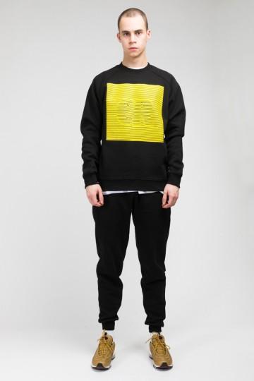 Крюнек Firm Черный/Желтый CR Volume Stripes