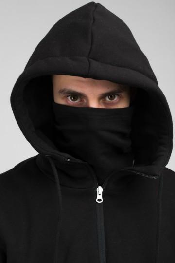 The Mask Combo Hoodie Black/Dark Gray