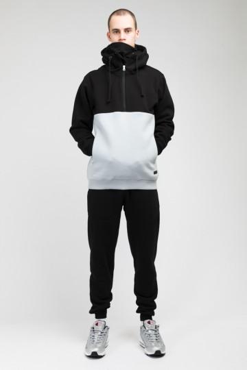 The Mask Combo Hoodie Black/Light Ash Gray