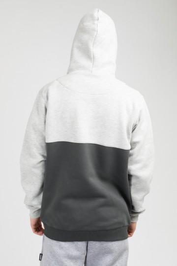 Толстовка The Mask Combo Тепло-Серый Меланж/Серый Городской