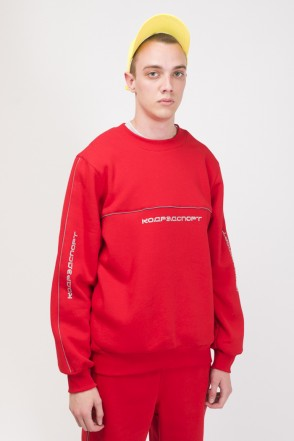 Piping Crew 2000 Crew-neck Red