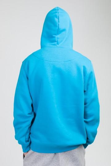 Толстовка Hood Up Голубой Небесный Afro Inline Sleeves