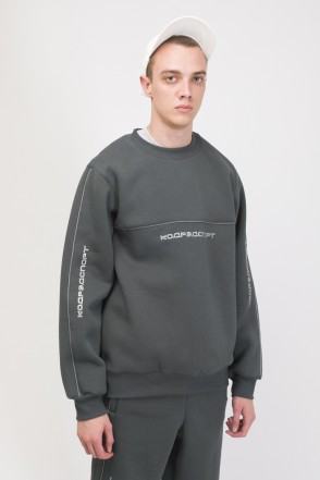 Piping Crew 2000 Crew-neck City Gray