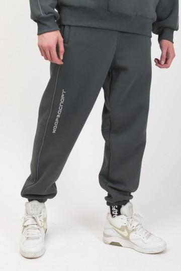 Штаны Piping Pants 2000 Серый Городской