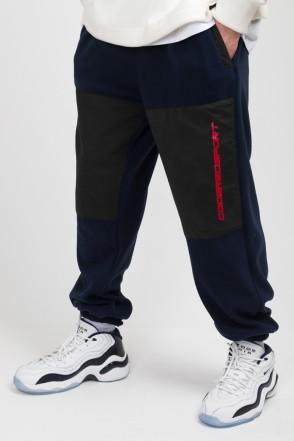 Fever Fleece Pants Ink Blue Fleece/Black