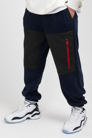 Fever Fleece Pants Ink Blue Fleece/Black