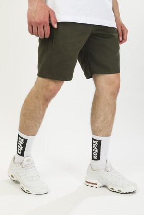 Motion 2 Shorts Bog Green