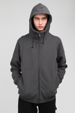 The Mask Zip Hoodie Dark Gray