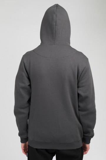 Толстовка The Mask ZIP Серый Темный