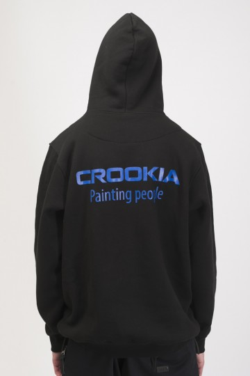 Толстовка Base Hoodie Черный Crookia