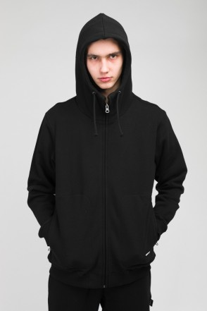 The Mask Zip Hoodie Black