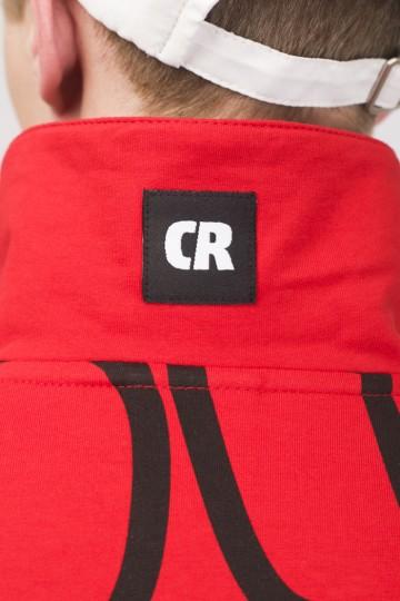 Поло Powlow Красный Принт CR Черный