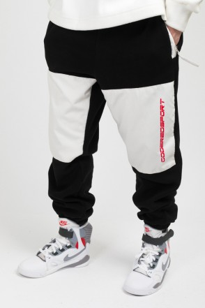 Fever Fleece Pants Black/Milky White