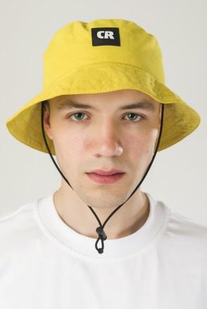 Панама Bucket New Желтый Яркий