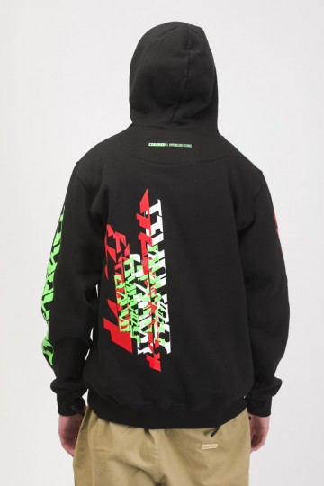 Толстовка Base Hoodie CODERED X Hyperboloid Records 29/09/2018