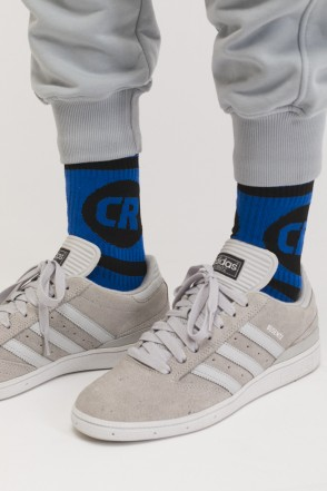 Носки CR Sphere & Line Socks Василек/Васильково-черное лого
