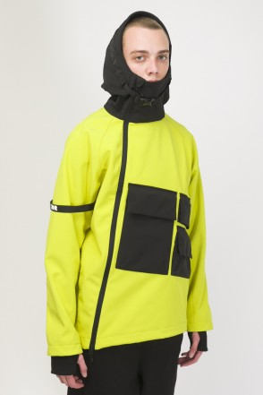 Ank Shell 3 COR Anorak Bright Yellow/Black