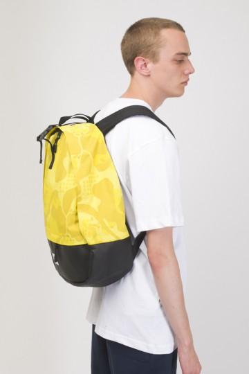 Рюкзак Standart Желтый Камуфляж/Черный Кожзам