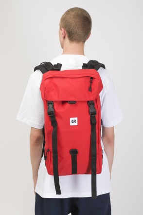 Wildstyle City Backpack Red Taslan