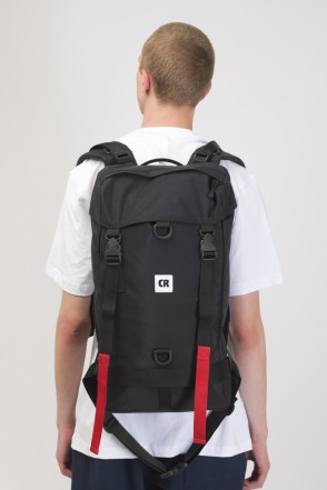 Wildstyle City Backpack Black Taslan