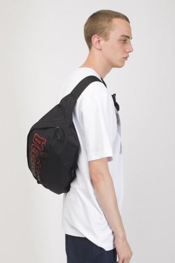 Hip Bag XXL Black Taslan/Red print КОДРЭД