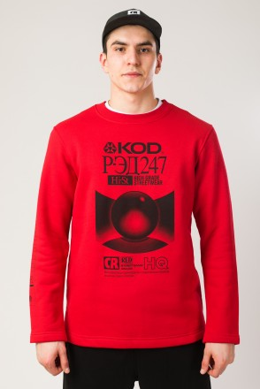 Sleeve Crew-neck Red VHS КОД Р-ЭД 247