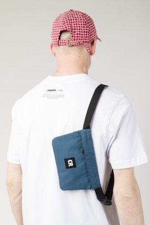 Мини-сумка поясная Pocket Mid Деним