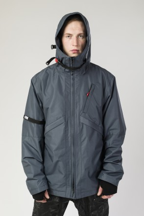 Мембранная куртка Argument 3 COR Серый Темный