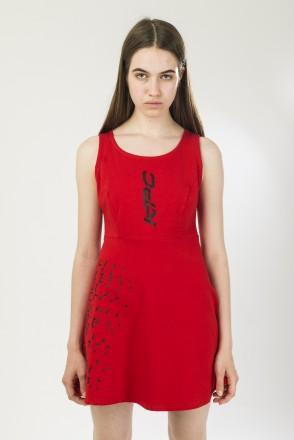 Spring Dress Red