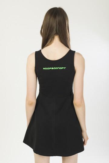 Платье Spring Dress Черный