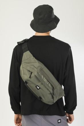 Сумка поясная Hip Bag XXL Болотный Таслан