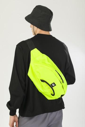 Сумка поясная Hip Bag XXL Флюр Лимон Соты Оксфорд