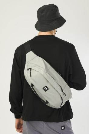 Hip Bag XXL Gray Taslan