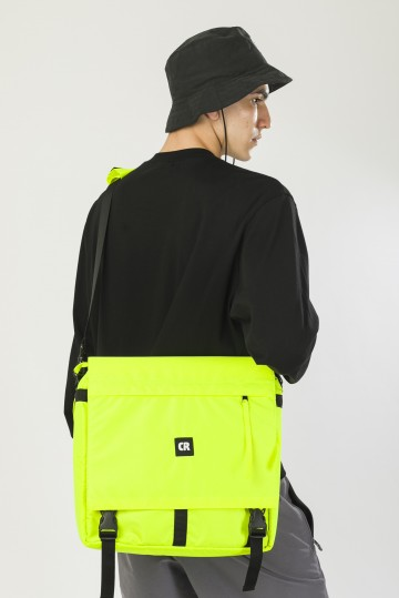 Message 2 Bag Fluorescent Lemon
