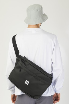 Big Bag 600 ml Black Art. Leather