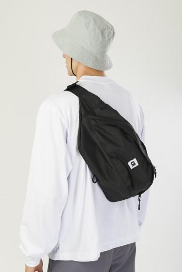 Сумка поясная Hip Bag XXL Черный Соты Оксфорд