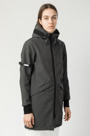 Куртка женская Allover 3 COR Графит Меланж