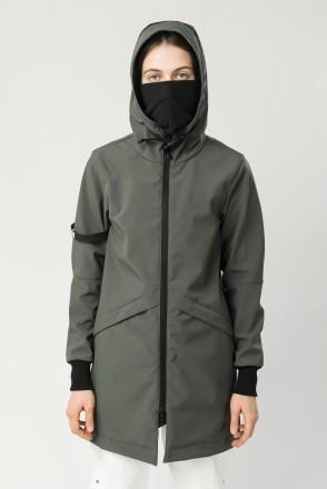 Куртка женская Allover 3 COR Серый Болотный